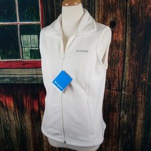 NEW COLUMBIA BENTON SPRINGS FULL ZIP FLEECE VEST